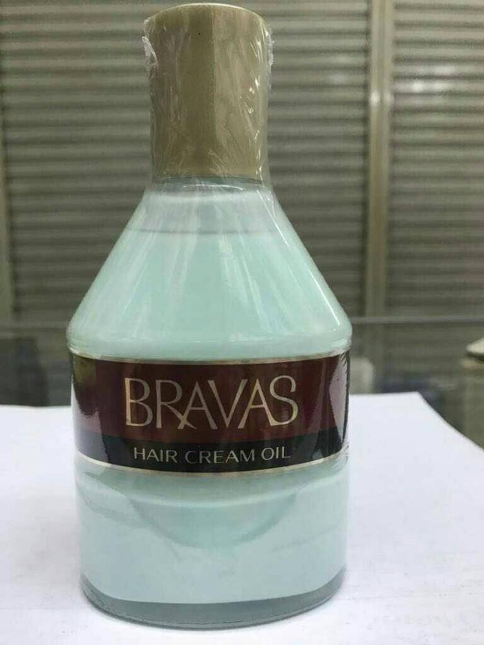 harga Bravas hair cream oil Tokopedia.com