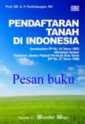 harga Buku pendaftaran tanah di indonesia Tokopedia.com