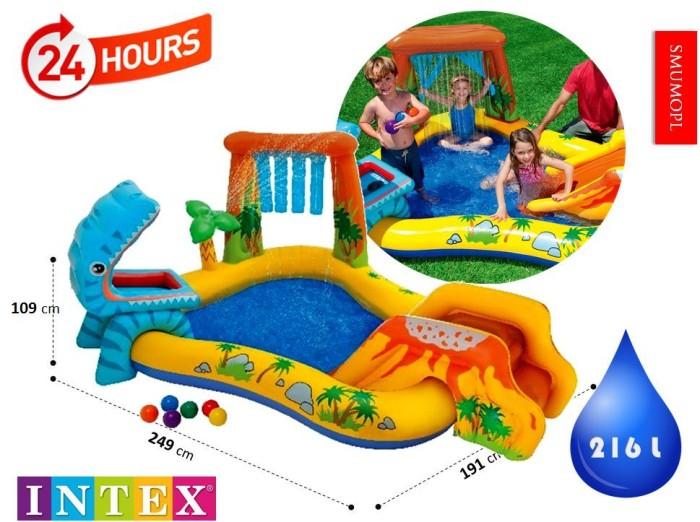 Jual Kolam Renang Anak Dinosaur Kids Play Center Swimming Pool Intex 57444 Kota Tangerang Intex Online Tokopedia