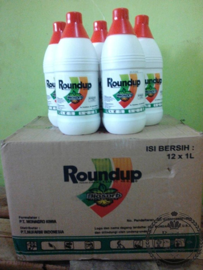 Roundup 486 Sl Herbisida Isi 1 Liter jual herbisida roundup 486 sl isi .