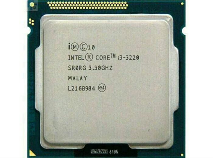 harga Prosesor intel core i3 3220 tray + fan socket 1155 Tokopedia.com