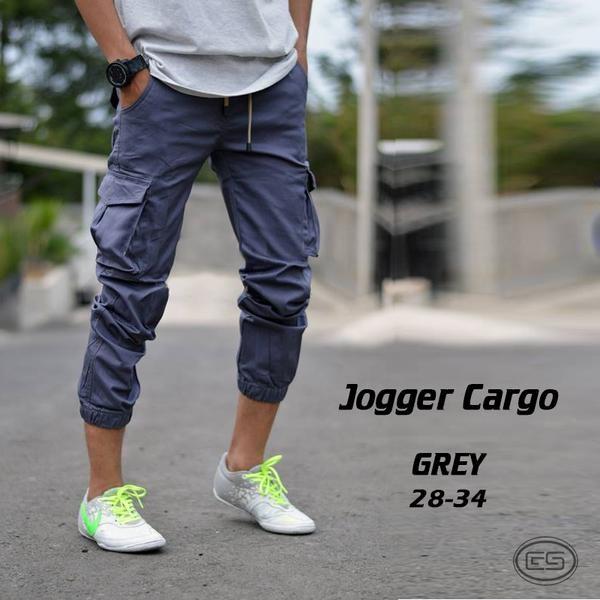 harga Jogger pants cargo grey / pdl / gunung / celana joger cargo abu - abu Tokopedia.com