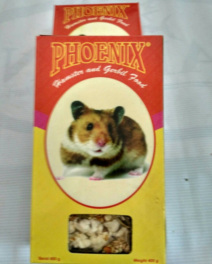 pakan hamster phoenix / makanan hamster phoenix