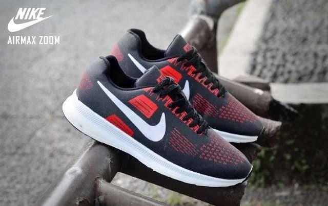 Jual Sepatu nike airmax zoom men hitam merah - Kujang Store  4c63e47618