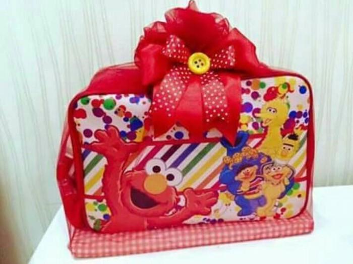 Foto Produk souvenir hampers travel bag custom one month ultah aqiqah khitan dari Elaine shopping