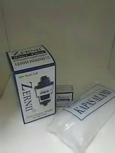 1 Paket Filter Air Zernii, Plus 1 Refill Karbon Dan 1 Refill Kapas Di Bogor