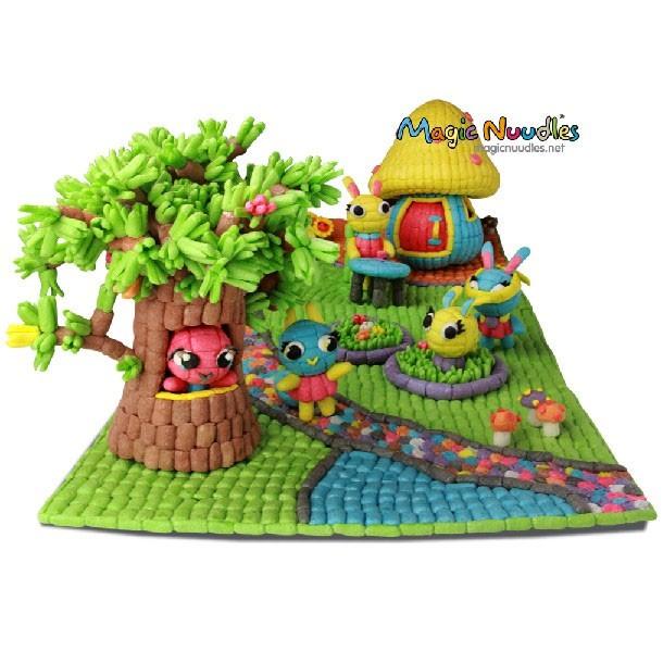 MAGIC NUUDLES 220PCS - building block - sponge building blok