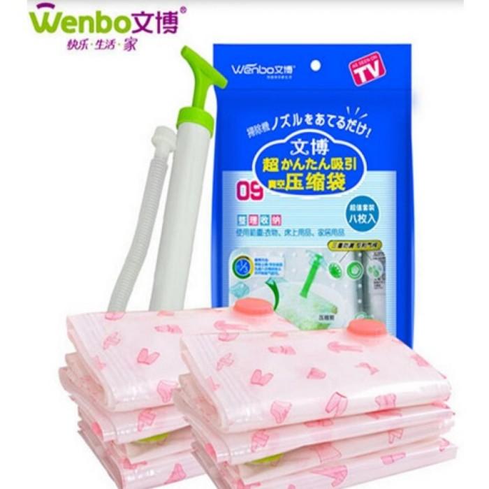 harga Plastik vacuum kantong pakaian travel bag/ plastik vakum Tokopedia.com