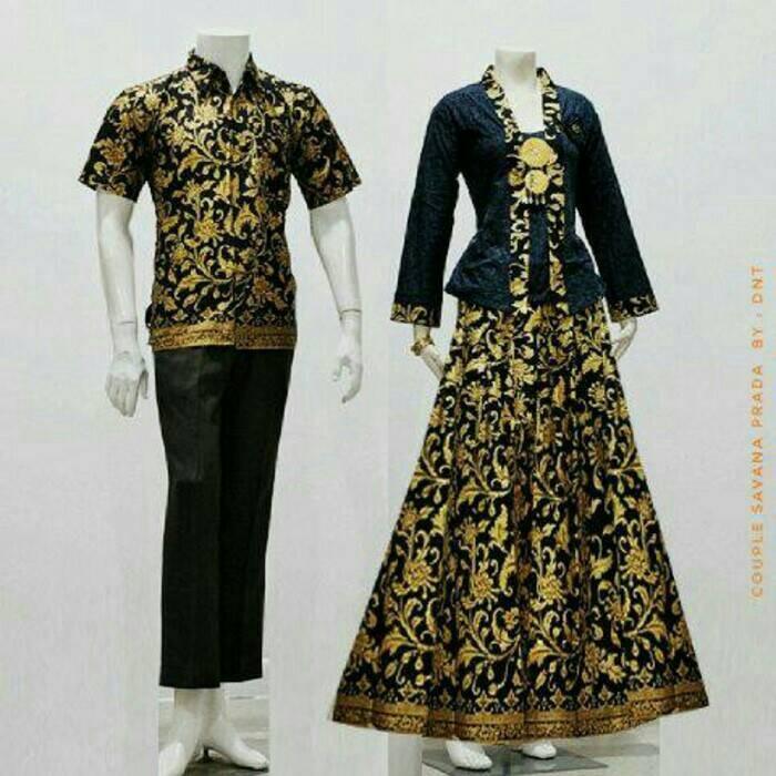 harga Baju batik sarimbit couple savana Tokopedia.com