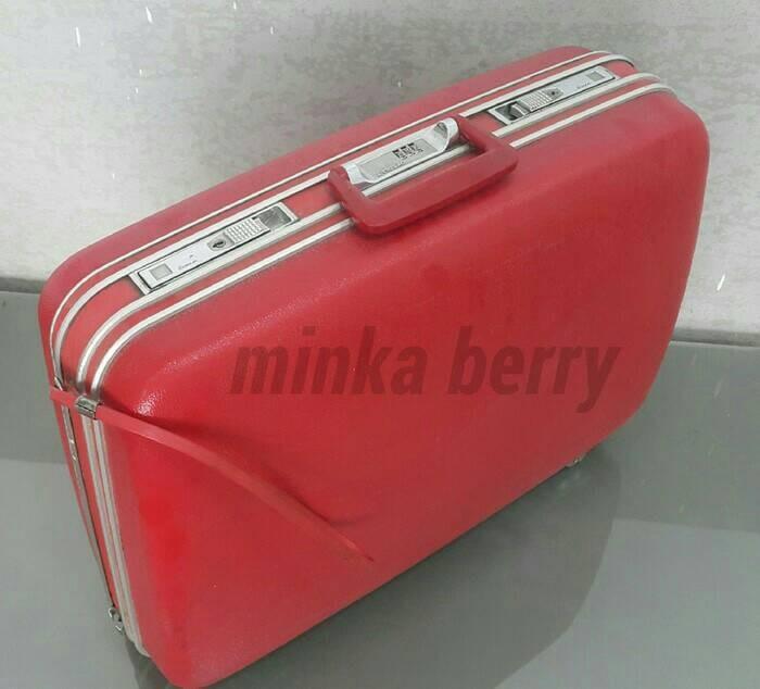 Echolac Tas Koper Hard Case Travel Bag Large - Koper Antik Vintage