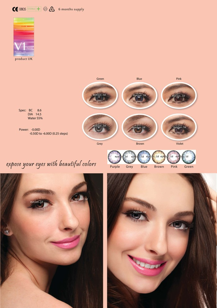 Color Contact Lens Kemenkes Source · Softlens V1 Xpose .
