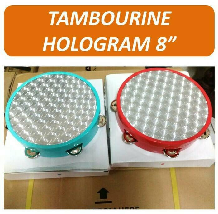 harga Tambourine Hologram - Jingles Holographic Pattern (cat Eyes) Tokopedia.com