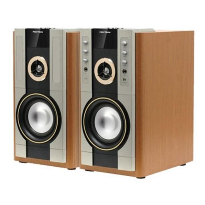 harga Polytron pas 61m active speaker - high quality sound - usb - fm radio Tokopedia.com