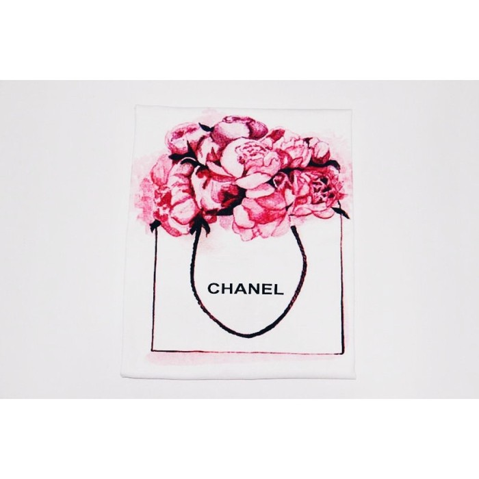 JCLOTHES Tumblr Tee / Kaos Cewe / Kaos Wanita Flower - Berkualitas