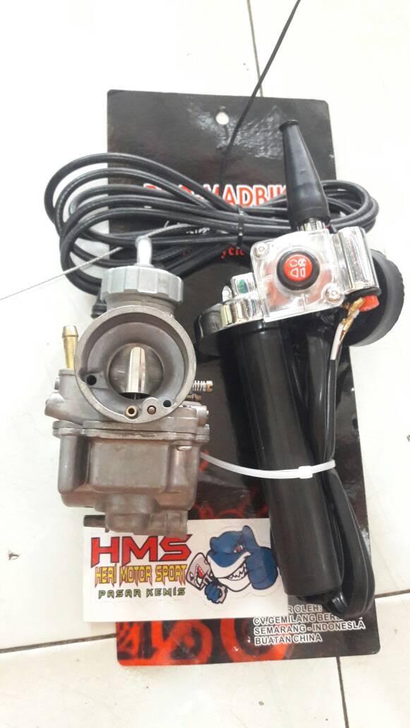 harga Paket karburator keihin pe 24 + gas spontan matic beat vario mio dll Tokopedia.com