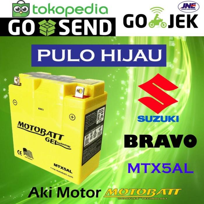 harga Aki motor suzuki bravo motobatt mtx5al Tokopedia.com