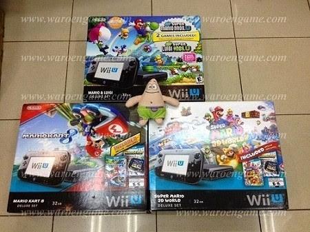 Jual Wii U Mario Kart 8 Deluxe Set, Loadiine + SoftMOD(HBC, Neogama, dll) -  DKI Jakarta - Latiashop | Tokopedia