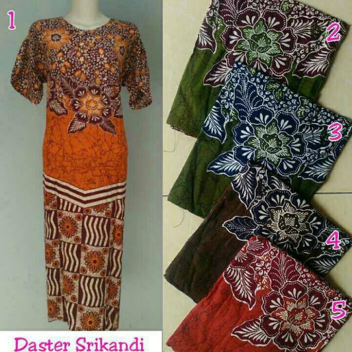 Jual Daster batik pekalongan longdress batik baju tidur bagus ... cffd9f7db9