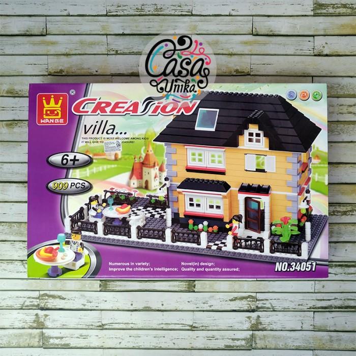 harga Lego Wange Creator Brick - Villa Rumah & Patio 34051 Tokopedia.com