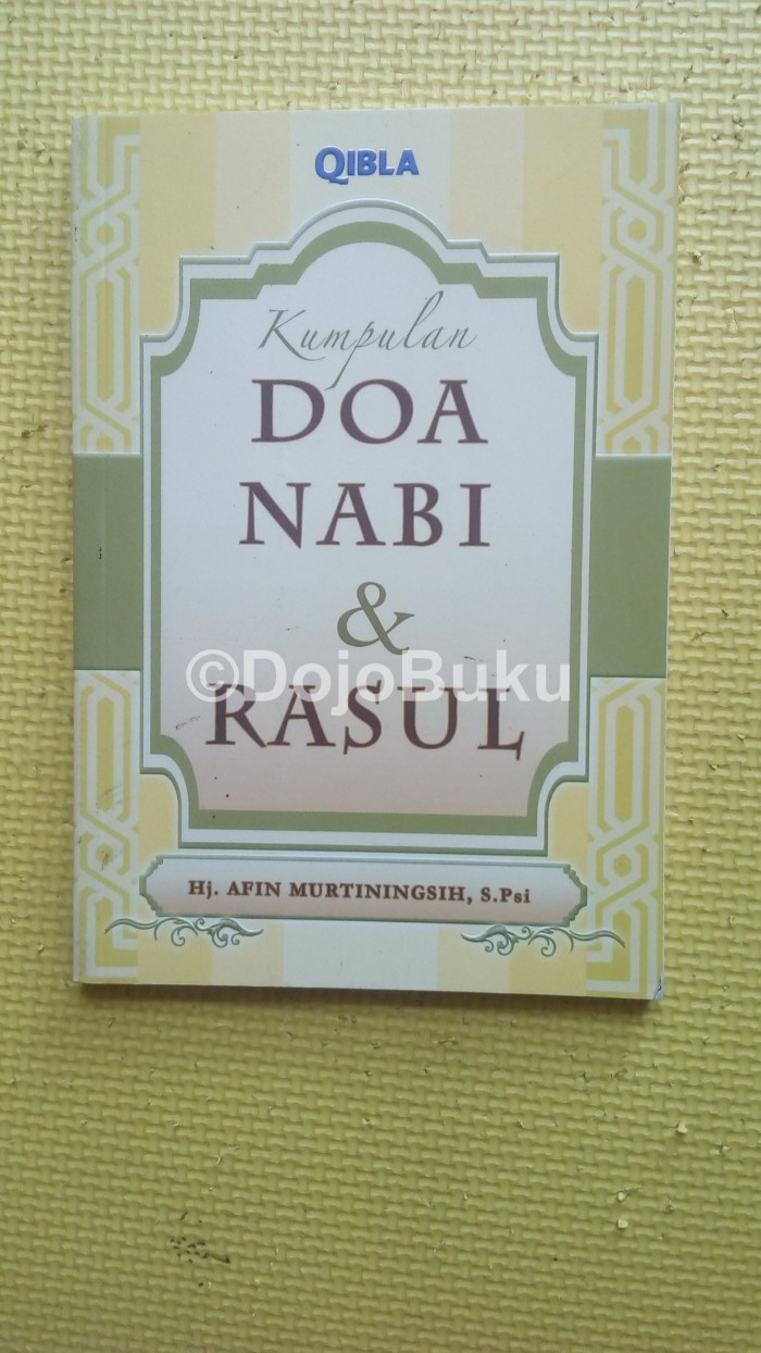 Jual Kumpulan Doa Nabi & Rasul Kota Tangerang Dojo Buku