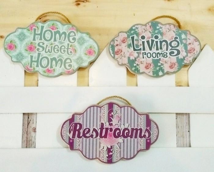 Jual Wall Hanger Home Decor Shabby Semarang Tengah Ratu Paksi Acc Homedecor Tokopedia