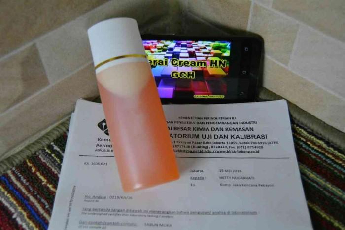 harga Sabun hn hetty nugrahati besar 120 ml ( sabun cair pepaya ) _ original Tokopedia.com