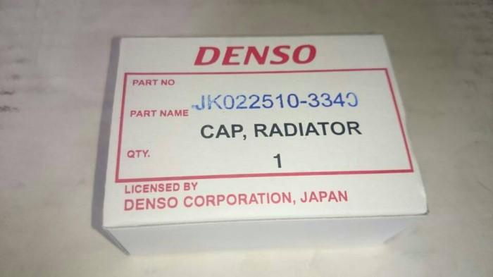 harga Denso genuine parts cap / tutup radiator 1.1 universal Tokopedia.com