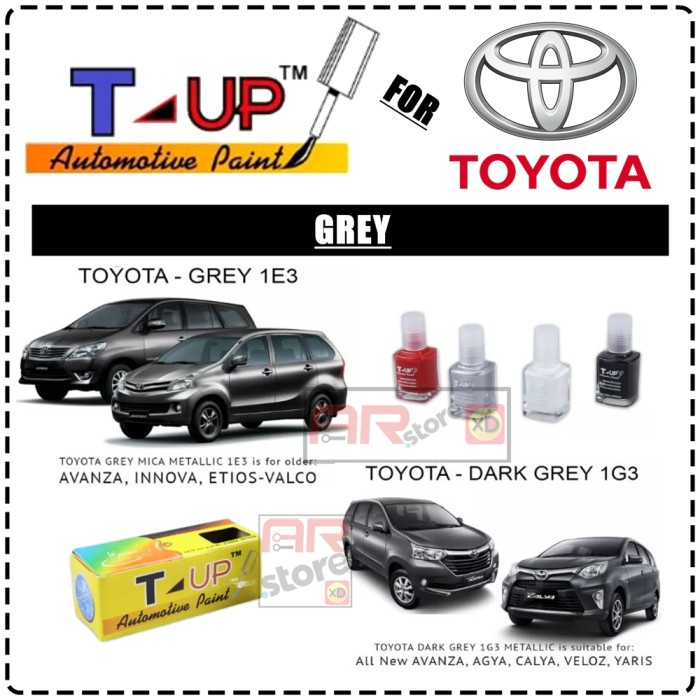 repairs toyota book corolla color paints all pearl products codes colours up paint crystal touch hybrid models hatch