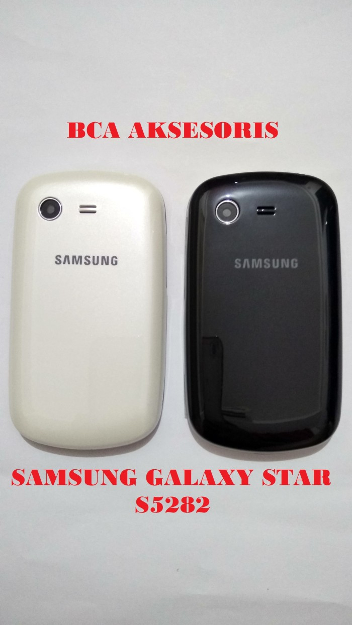 harga Casing samsung galaxy star + key / s5282 housing fullset original Tokopedia.com