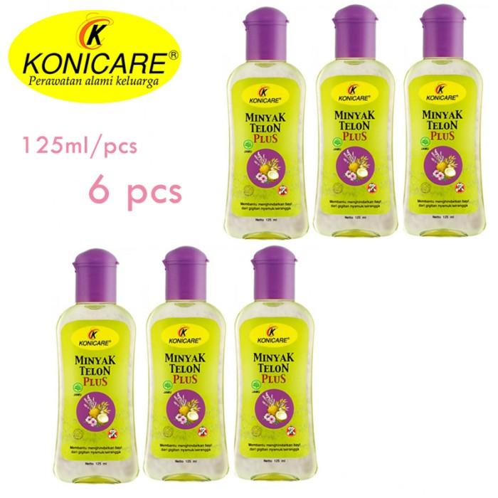 Konicare Minyak Telon Plus 125 Ml - 6 Pcs