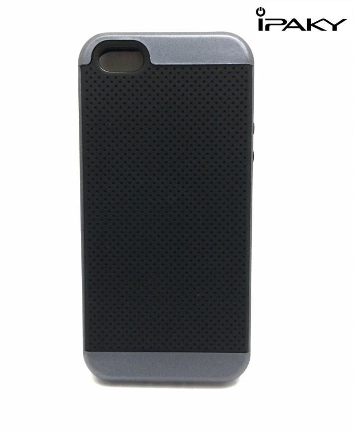 Softcase Ipaky Iphone 5/5s/5SE Casing Neo Hybrid Case Karet Premium