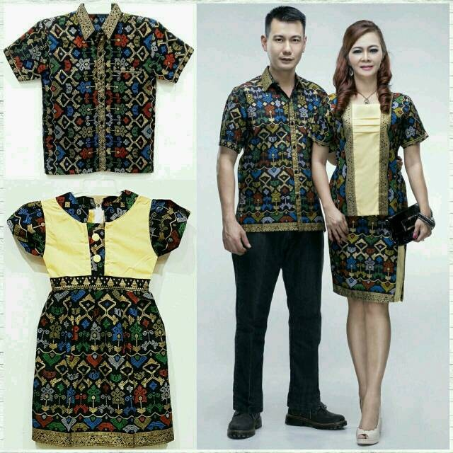 Katalog Baju Couple Batik Family Travelbon.com