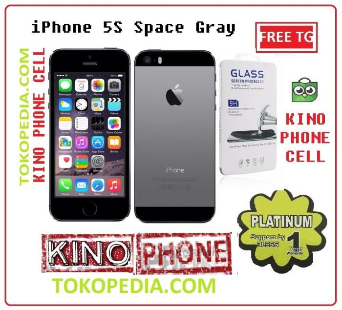 Jual iPhone 5s 16GB New Garansi 1 tahun Distributor - Jakarta Pusat - kino  phone cell | Tokopedia