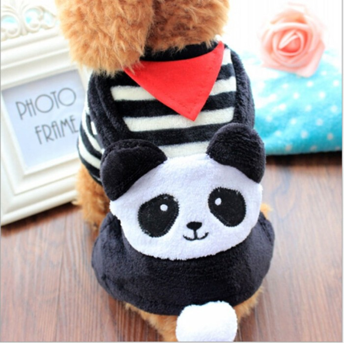 Baju Anjing / Kostum Anjing Dog Doggy Clothes Motif Panda (Type C)
