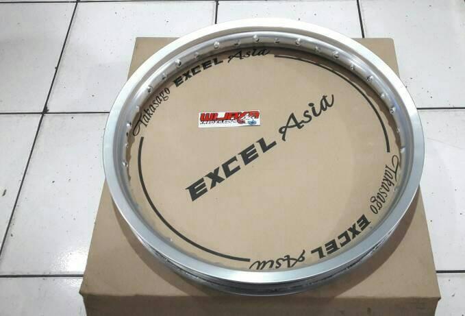 harga Pelek velg takasago 1.40x17 excel asia silver Tokopedia.com