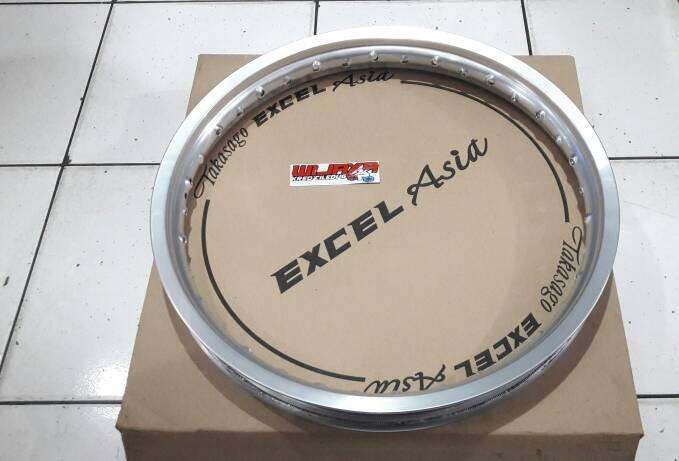 harga Pelek velg takasago 160x17 excel asia silver Tokopedia.com