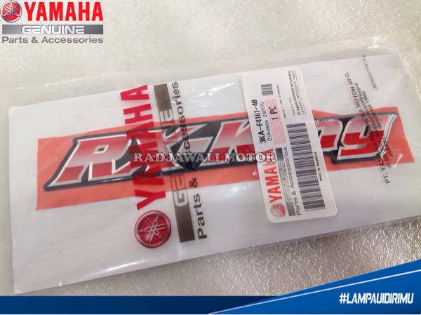harga Emblem logo sticker rx king cover aki rx king 2005 asli yamaha Tokopedia.com