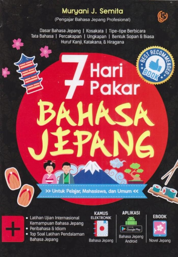 harga 7 hari pakar bahasa jepang Tokopedia.com