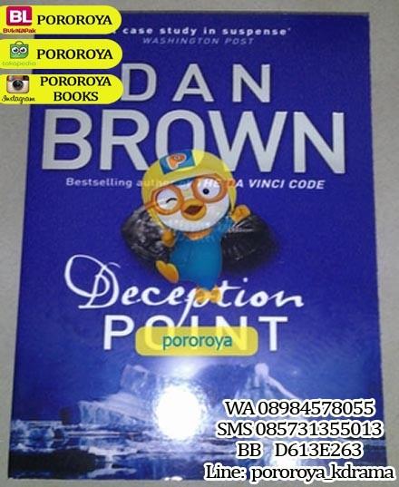 harga Novel thriller dan brown - deception point (english) Tokopedia.com