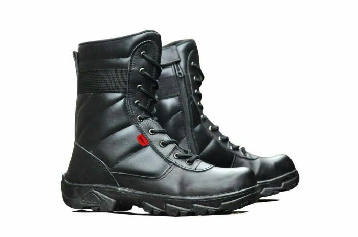 harga Sepatu Pdl Tactical Kickers Hitam Safety Resleting Zip Tni Pdh Cros Tokopedia.com