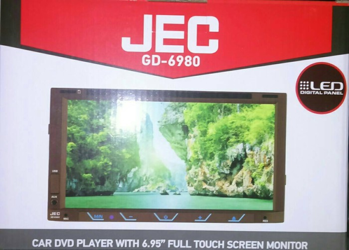 harga Head Unit Double Din Jec Gd 6980 Tokopedia.com
