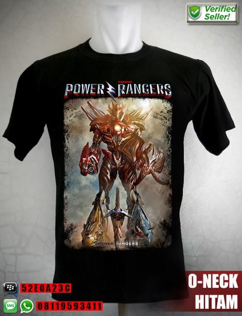 harga Kaos power rangers megazord fanart ukuran anak no. 012 Tokopedia.com