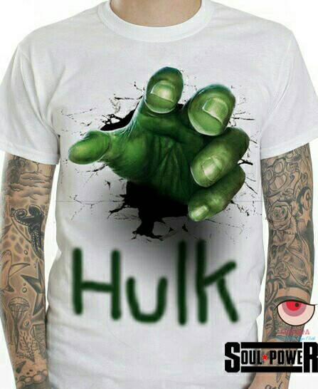 Jual Kaos 3d Hulk Distro Keren Unik Bagus Terbaru Cowok Cewek