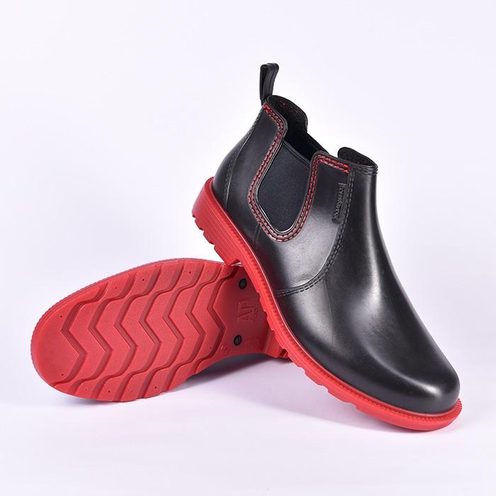 Foto Produk Sepatu AP Hobby N Work Boots Kerja By AP BOOT Pendek Pvc Waterproof - Hitam, 41 dari lbagstore