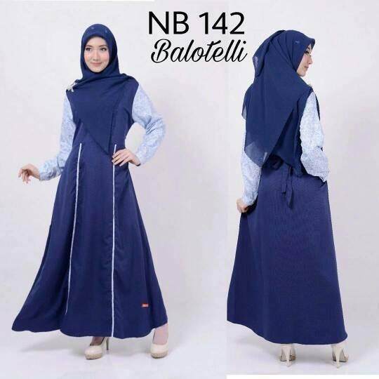 harga Gamis nibras dress baju muslim syar'i wanita remaja dewasa murah Tokopedia.com