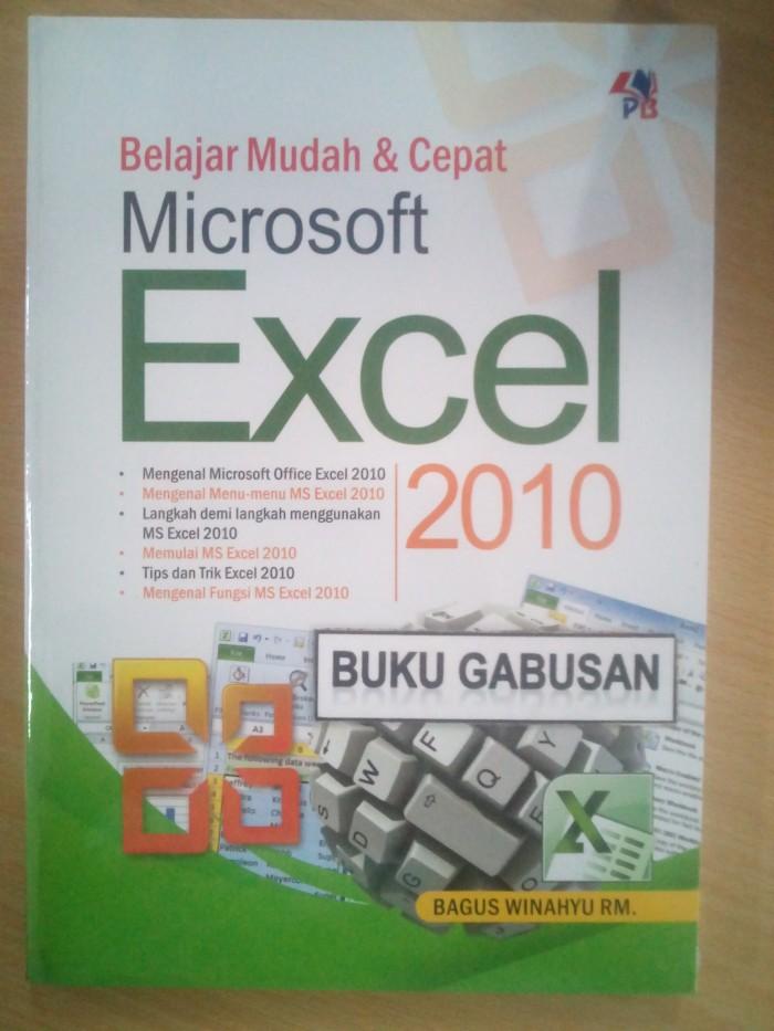 harga Buku belajar mudah dan cepat microsoft excel 2010 rz Tokopedia.com