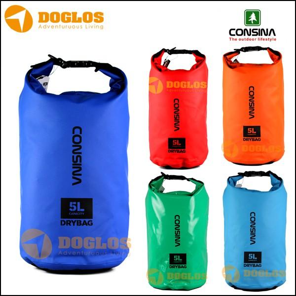 harga Consina drybag 5l dry bag 5 l tas waterproof gunung outdoor travelling Tokopedia.com