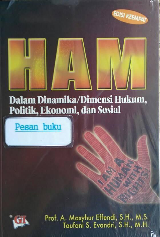 harga Buku ham dalam dinamika/dimensi hukum politik ekonomi dan sosial Tokopedia.com