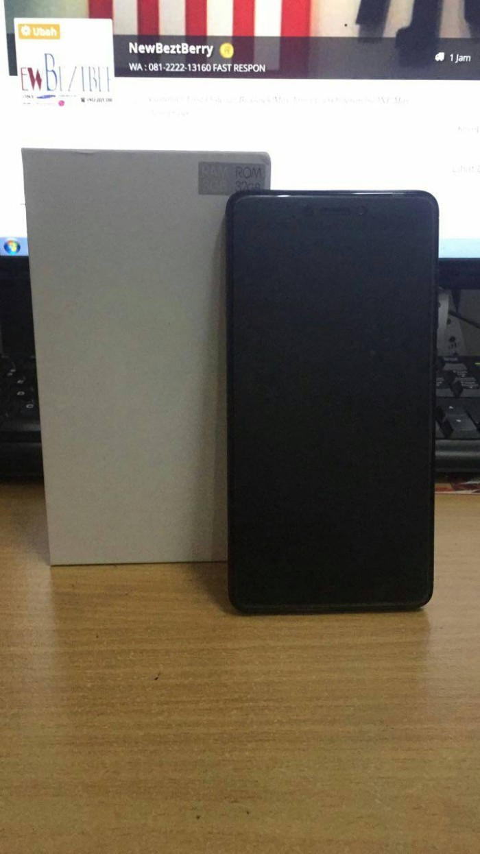 Jual Xiaomi Redmi Note 4x Black 3 32 Garansi 1 Tahun Snapdragon Distributor