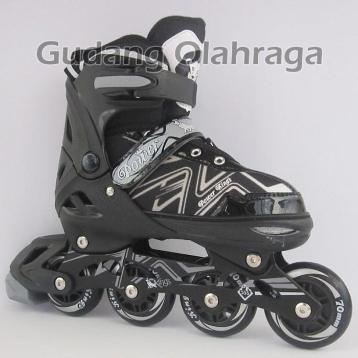 Sepatu Roda Ban Karet Anak Dan Dewasa / Inline Skate Model Jahit .